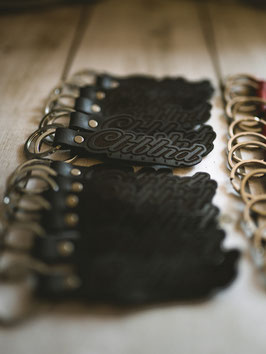 CLRBLND KEY RING | Leather