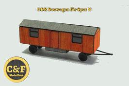 Bausatz Bauwagen