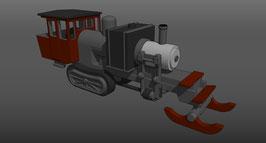 Phoenix Steam Log Hauler