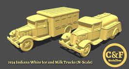 Indiana White Truck 1934