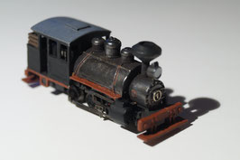 Industrial 0-6-0 Steam Engine