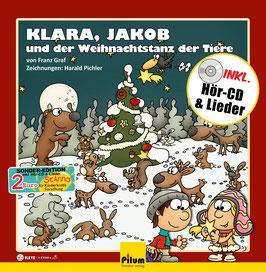 Klara, Jakob und der Weihnachtstanz der Tiere