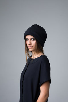 BEANIE cotton knit