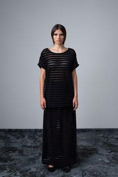 Long skirt stripes