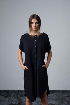 Asymmetric blouse dress