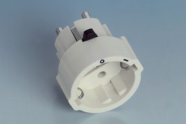 Schutzkontakt-Zwischenstecker mit Schalter - USTECK Typ 290