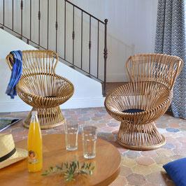 Paire de fauteuils de Franco Albini, 1950