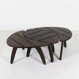 Set de 3 tables de Triconfort, 1960