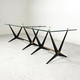Paire de tables basses d'Angelo Ostuni, 1960