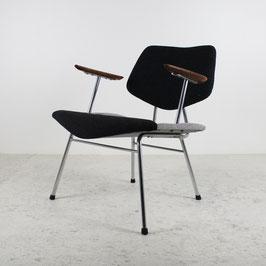 Paire de fauteuils bicolores, 1950
