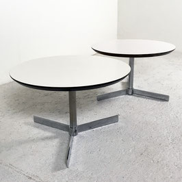 Deux tables basses de Georges Frydman, 1970