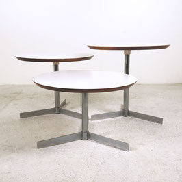 Set de 3 tables basses de Georges Frydman, 1970