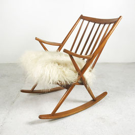 Rocking-chair en frêne, 1960