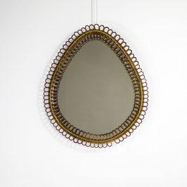 Miroir en rotin, 1950