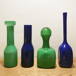 Vases en verre de Murano, 1960