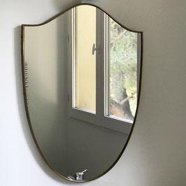 Miroir en laiton, 1950