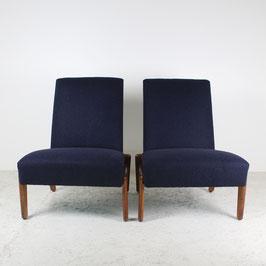 Paire de fauteuils de Gustave Gautier, 1950