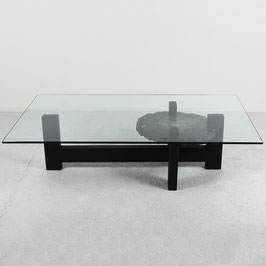 Table basse de Yann Dessauvages, création contemporaine