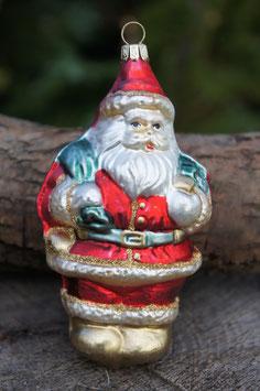 Weihnachtsmann Säckchen Matt 10 cm