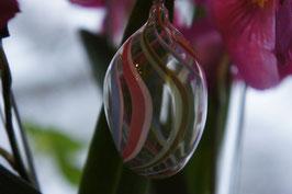 Faden-Glas Hängeei  7 cm