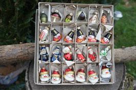 25 Miniaturen für Christbaum