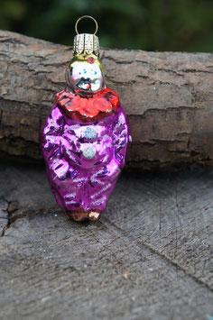Clown Rot/Lila 5 cm