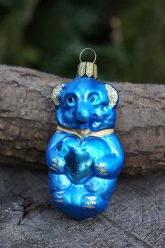 Bär Blau 6 cm