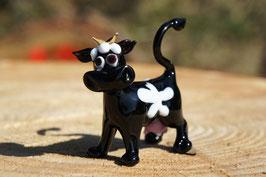 Muh die Kuh 5 cm Schwarz/Weiß