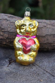 Bär Gold 6 cm