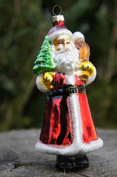 Weihnachtsmann Glanz 10 cm