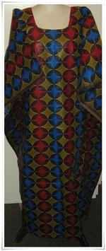 Kaftan/Kleid *Nyoata Duara* WaxPrint, Gr.  S, Afrika
