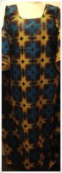 Kaftan/Kleid *Mahawia  Duaradufu* WaxPrint, Gr. S, Afrika