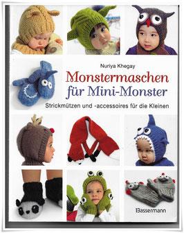Handarbeitsbuch *Monstermaschen für Mini-Monster* Afrika
