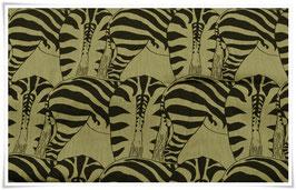 BW-Stoff * Zebra Wanyuma* MeterwareAfrika