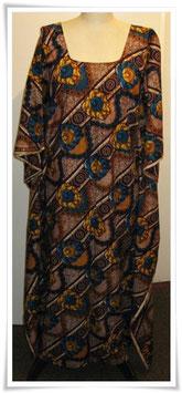 Kaftan/Kleid *Duara Manjano * WaxPrint, Gr.  M, II. Wahl, Afrika