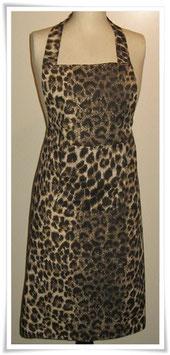HaushaltsSchürze *Leopard braun* Afrika