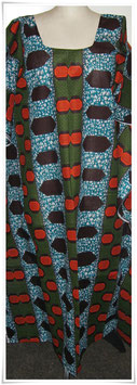 Kaftan/Kleid *Mraba Pembe* WaxPrint, Gr.  L,  II. Wahl, Afrika