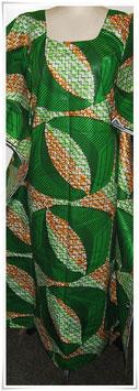 Kaftan/Kleid *Mameno Kijani* WaxPrint, Gr.  S, Afrika