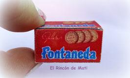 GALLETAS FONTANEDA, MODELO ANTIGUO