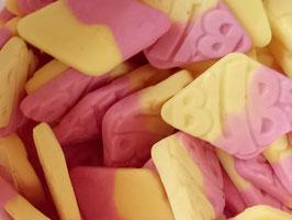 Erdbeer Cheese Ecken (gelatinefrei)