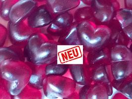 Himbeer Herzen (mit Fruchtsaft)