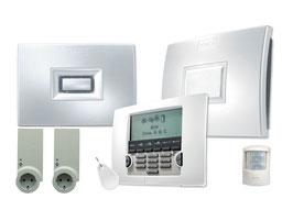 Somfy Protexial io Security Kit LICHT 1875099 FPK + 2 io-Steckdosen + 1 Bewegungsmelder