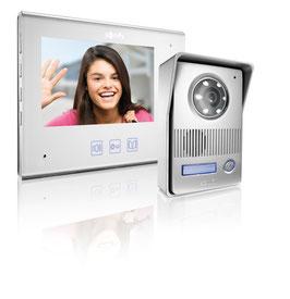 Somfy Video Türsprechanlage Visiophone V400 RTS mit Türklingel und Funkbedienung 2401211