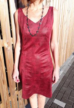 Robe Suédine rouge