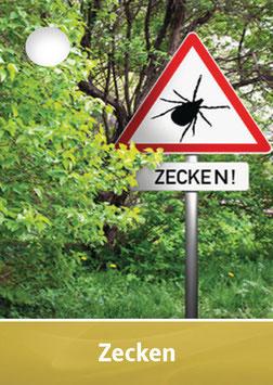 """""""Zecken"""" - Homöologie-Karte für Tiere"""