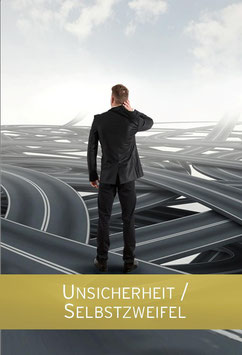 """Karte """"Unsicherheit / Selbstzweifel"""""""