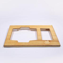 Umschlagdeckel für DIN A3-Sieb