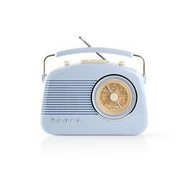 Nedis UKW-Radio | 4,5 W | Tragegriff | | Blau