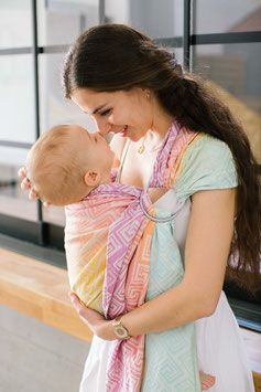 neko Ring Sling Rainbow MEANDER Shine