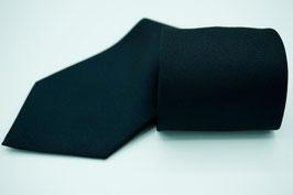 Krawatte einfarbig schwarz / für Schützengruppe, Spielmannszug, Tambourcorps, Fanfarencorps